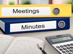 Meeting Minutes/Photos