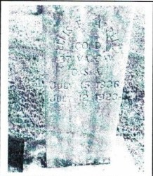 Jarrell tombstone
