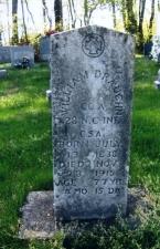 William Draughn's stone