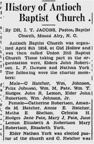 Antioch History 2
